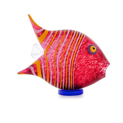 Borowski Glass, 'Angel Fish - Small | Red | 24-04-02', 2020