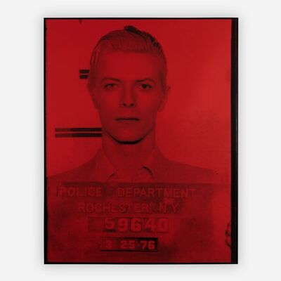 Russell Young, 'David Bowie (Pig Series) (red)'