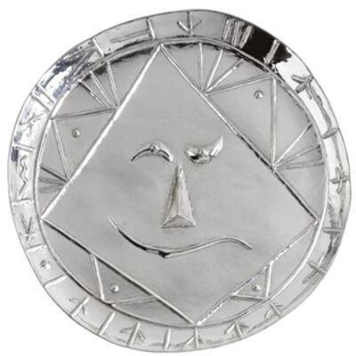 Pablo Picasso, 'Tête Géométrique', 1956-1967
