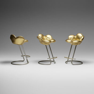 Masanori Umeda, 'Soshun stools, set of three', 1990
