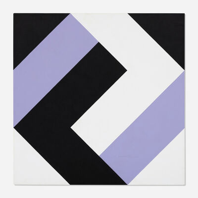 Frederick Hammersley, 'One good turn', 1980