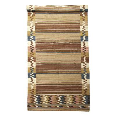 Märta Måås-Fjetterström, 'Custom size flat woven carpet', 1920