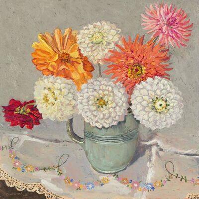 Lucy Culliton, 'Daisies, green jug', 2018