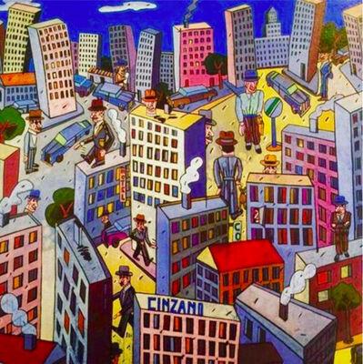Antonio Seguí, 'Cielo Azul', 1994