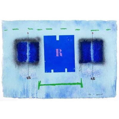 James Coignard, 'Rigueur bleue #1162. ', 2004