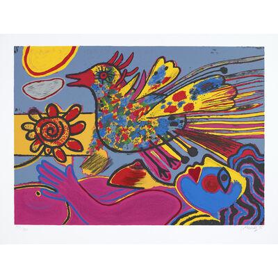 Corneille, 'La fleur et l'oiseau ', 1995