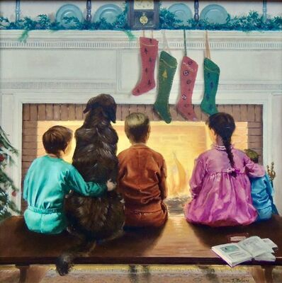 Alton S. Tobey, 'Christmas Eve', 20th Century