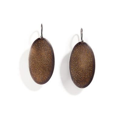 Sandra Enterline, 'Beetle Drop Earrings', ca. 2015