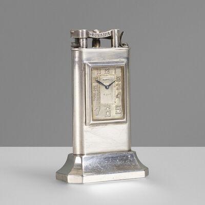 Dunhill, 'Clock table lighter', c. 1930