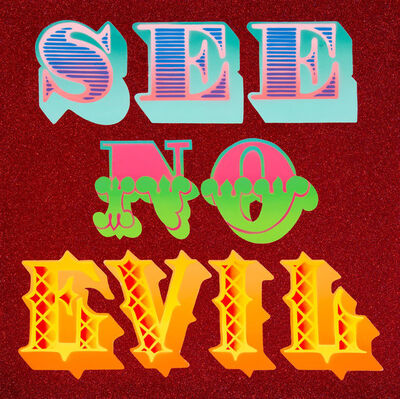 Ben Eine, 'See No Evil', 2013