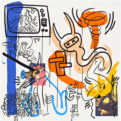Keith Haring, 'Apocalypse (Plate 7) ', 1988