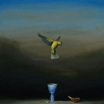 David Kroll, 'Blue Cup', 2017