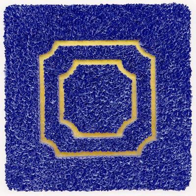 """Lore Bert, '""""Divisions (blue) ', 2009"""
