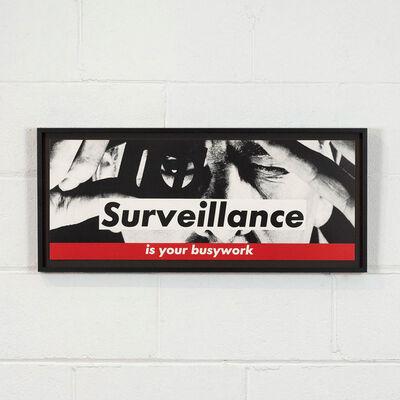 Barbara Kruger, 'Surveillance', 1983