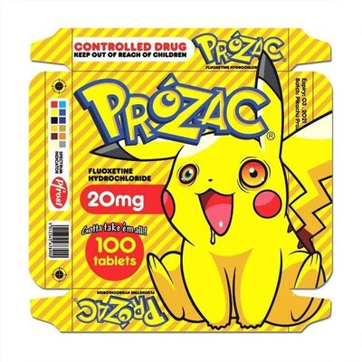 "Ben Frost, '""Gotta Take Em All"" Print Edition Pikachu Cartoon Anime Pokeman', 2021"