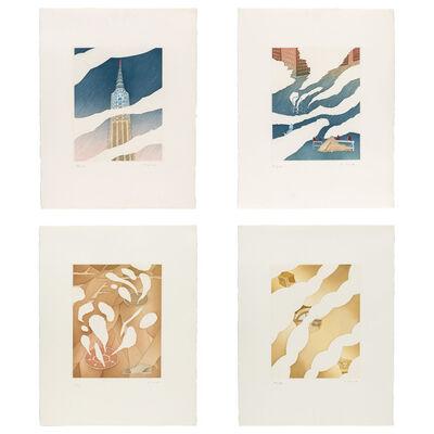 Jean Michel Folon, 'NEW YORK SERIES'