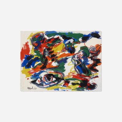 Karel Appel, 'Têtes Comme un Paysage', 1960