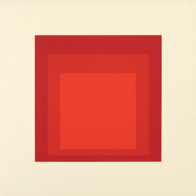 Josef Albers, 'Homage to the Square: Edition Keller Id', 1970