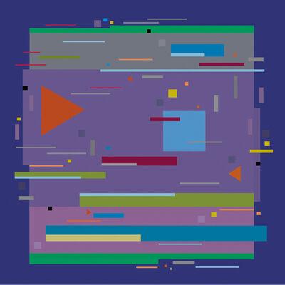 Burton Kramer, 'Line Dance 6', 2008