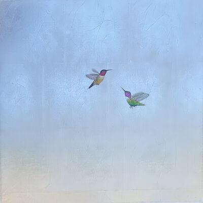 Carolyn Reynolds, 'Duo on Silver Skies IV', 2021