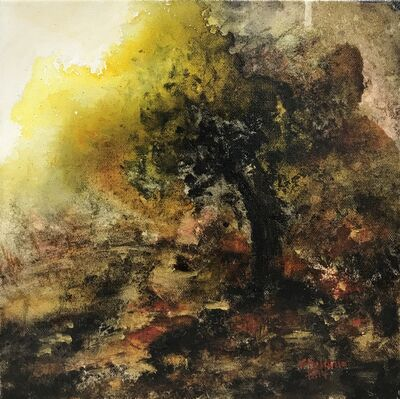 Shyama Nadimpalli, 'Serenity in the Mountains- The Tree', 2019