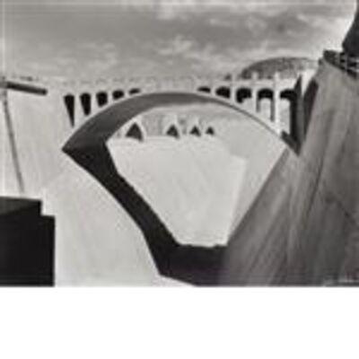 Julius Shulman, 'Boulder Dam Spillway. Nevada / Arizona', 1936
