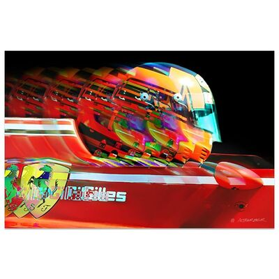 Andrew Barber, 'Gilles Villeneuve Ferrari Formula 1 | Automotive | Car', 2019