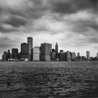 Peter Hujar, 'Lower Manhattan from the Harbor', 1976