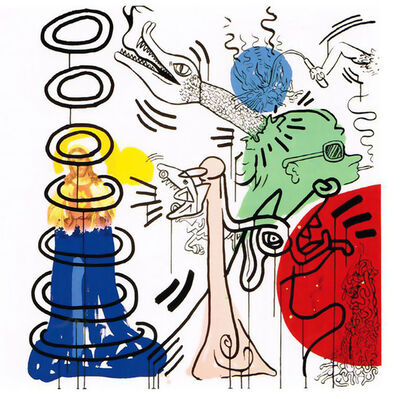 Keith Haring, 'Apocalypse 5', 1988
