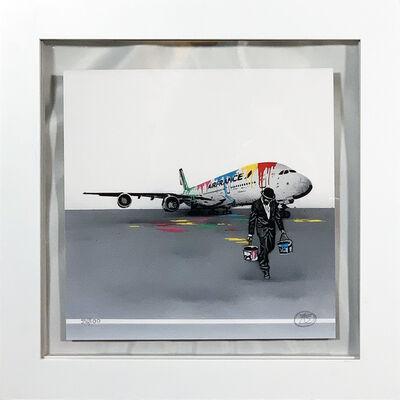 Nick Walker, ''Air France' (framed)', 2017