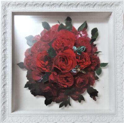 Jorge Villalba, 'Red Roses', 2020