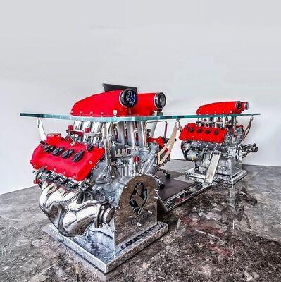 Tom Bates, 'Double Ferrari 430 Desk', 2020