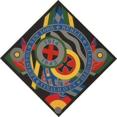 Robert Indiana, 'Hartley Elegies KVF X', 1991