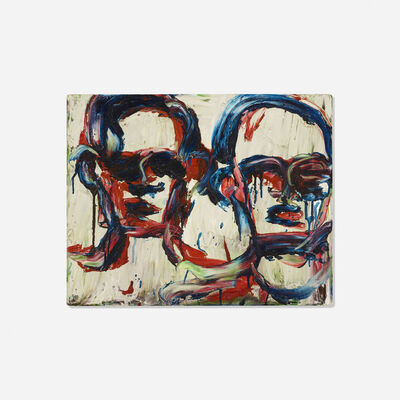 Lester Johnson, 'Two Heads', 1964