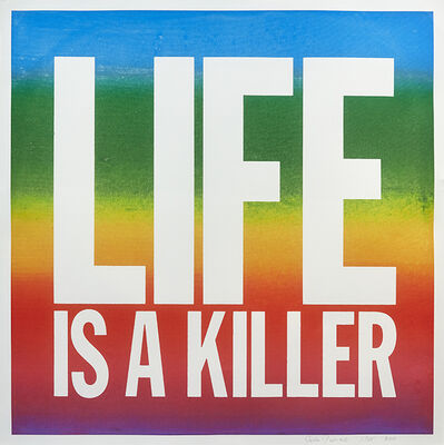 John Giorno, 'Life Is A Killer', 2017