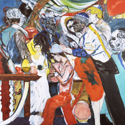 R. B. Kitaj, 'The Wedding ', 1989-1993