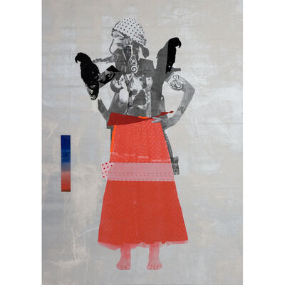Sally Smart, 'The Exquisite Pirate (red/skirt/parrot)', 2008