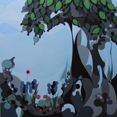 Grant William Thye, 'Green Tree', 2018