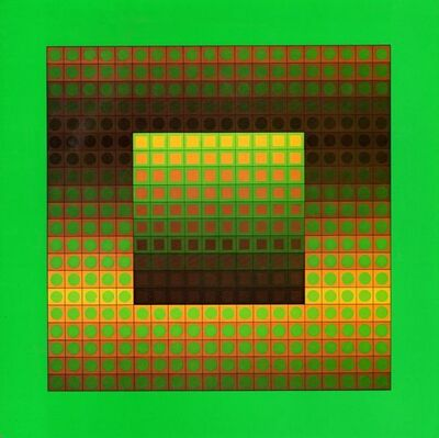 Victor Vasarely, 'Folklore Planétaire', 1971