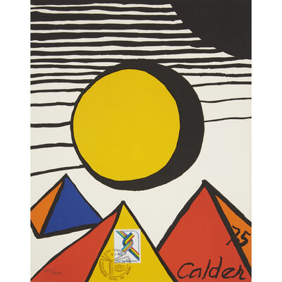 Alexander Calder, '30th Anniversary of the World Federation of United Nations Associations Print', 1975-76