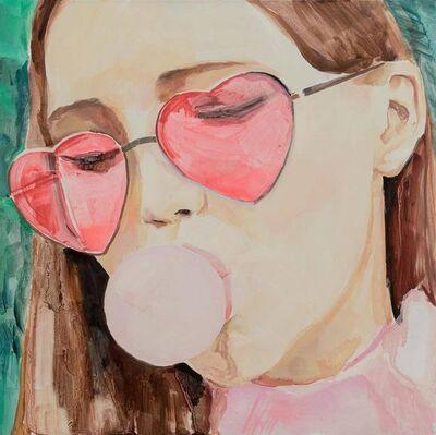 Yuan Yuan, 'Girl Who Chews Gum', 2017