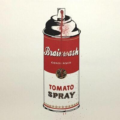 Mr. Brainwash, 'Tomato spray', 2011