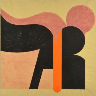 Luis Wells, 'Sin título (Composición Rosa y Negro)', ca. 1970