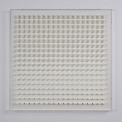 Hartmut Böhm, 'quadratrelief 97b', 1973