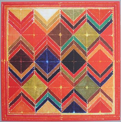 S. H. Raza, 'symboles 1', 2007