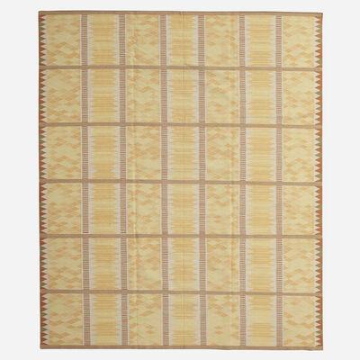 Contemporary, 'flatweave carpet', c. 2000
