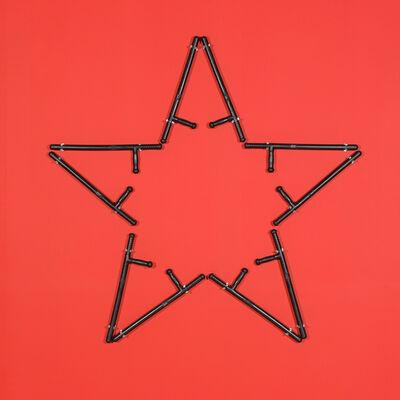 Kendell Geers, 'T.W. Batons (Pentagram)', 1994