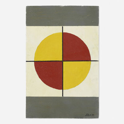 Charles Green Shaw, 'Quartet #8', c. 1970