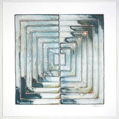 Jonathan K Higgins, 'Flow Chart #17', 2019