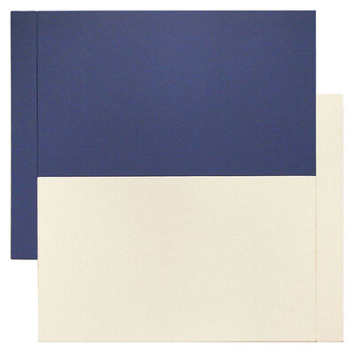 Scot Heywood, 'Shift - Blue/White'